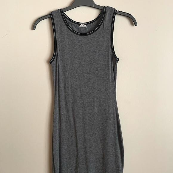 GARAGE grey light summer dress